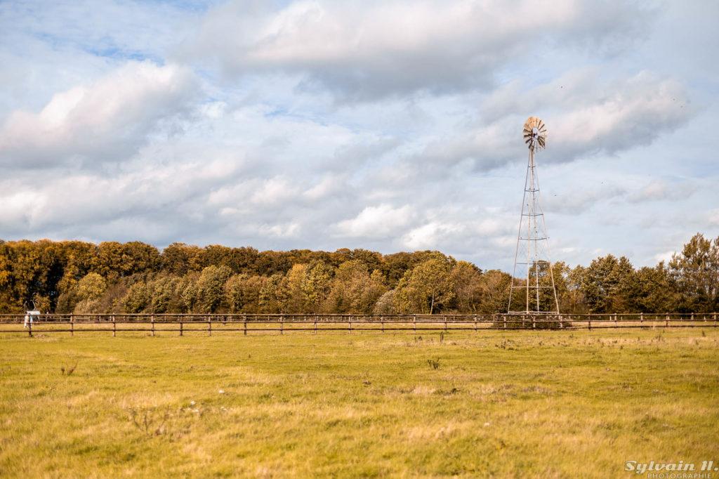 carrière avec moulin à vent